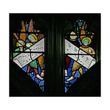 Window S2 Depicting the Angelic Choir Singing Giclee Print