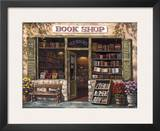 Book Shop Art by Sung Kim