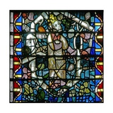 Window W16 Depicting a King on the Tree of Jesse Giclee Print
