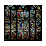 Window W232 Depicting Scenes from the Story of Daniel Giclee Print
