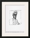 Self-Portrait Prints by Alberto Giacometti