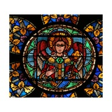 Window W201 Depicting an Angel Giclee Print