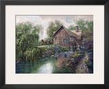 Willow Creek Mill Prints by Carl Valente