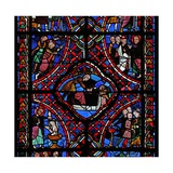 Window Depicting the Third Section of the St James Window, W5: Not All of the Scenes Have Been… Giclee Print