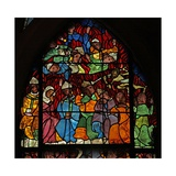 Window W16 Depicting a Scene from the Last Judgement: the Damned Giclee Print