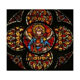 Window W201 Depicting an Angel Giclée-Druck