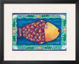 Humuhumunukunukuapua'a, Hawaii State Fish Posters by Deybra Faire
