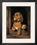 Dignity and Impudence Posters by Edwin Landseer