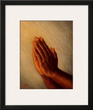 Praying Hands Posters by Tim Ashkar