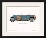 1926 Hispano-Suiza Poster