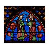 Window W3 Moses Complains to God Numb Xi 11-15 Giclée-Druck