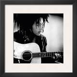 Bob Marley with Guitar Posters