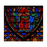 Window W3 the Tabernacle Consecrated by Moses and Aaron Numb VII 1 Giclée-Druck
