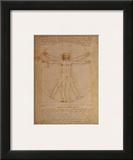 Vitruvian Man, c.1492 Poster by  Leonardo da Vinci