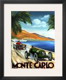 Monte Carlo Posters by Chris Flanagan