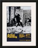 Painting Autumn Rhythm No. 30 Print by Jackson Pollock
