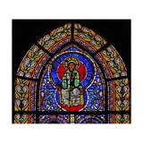 Window W5 Depicting the Virgin Mary Giclee Print