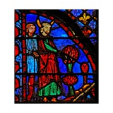 Window W3 Moses Orders the Expulsion of the Unclean Numb V 3-4 Giclée-Druck