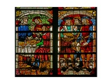 Window W232 Depicting a Scene from the Prodigal Son Story: Thr Feast of the Son's Return Giclee Print