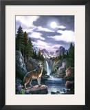 Wolf Moon Art by Alma Lee