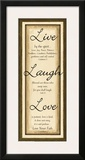 Sage Sign, Live Laugh Love Prints by Debbie DeWitt