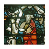 Window W16 Depicting a Prophet on the Tree of Jesse Giclee Print