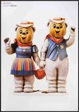 Winter Bears Posters by Jeff Koons