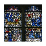 Window W15 Depicting a Scene from the Life of St Cuthbert Giclee Print
