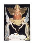 Illustration from 'Europe: a Prophecy', Lambeth, 1794 Giclée-Druck von William Blake