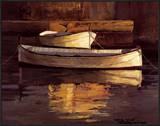Barcas al Atardecer Posters by Poch Romeu