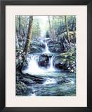 Blue Ridge Falls Prints by Egidio Antonaccio