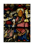 Window W24 Depicting the Te Deum - God the Father and Creator Giclee Print