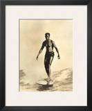 Hawaiian Surfer Duke Kahanamoku Poster