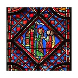 Window W6L Isaiah Carries a Light to the People. Is II 5 Giclee Print