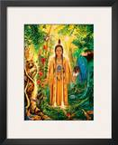 Native American Divine Grandmother Posters by David Rico