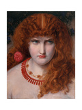 Helen of Troy, C.1867 Giclee Print by Anthony Frederick Augustus Sandys