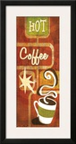 Retro Coffee III Print by Stacy Gamel