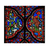 Window W6L God Punishes Those Who Plunder the Vine. Is III 14-15 Giclee Print