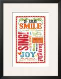 Beauty Smile Print by Sharyn Sowell