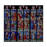 Window W233 Depicting the St Sebastian Window Giclee Print