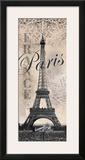 Eiffel Tower Art by Todd Williams