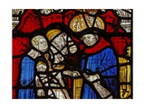 Window Nw Depicting St Martin Goes to School Giclee Print