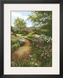 Hilltop Garden Poster by Lene Alston Casey