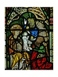 Window N2 Depicting the Adoration of the Magi Giclee Print