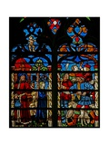 Window W234 Depicting Jacob with Joseph; the Brothers Plot Giclee Print