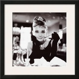 Audrey Hepburn in Breakfast at Tiffany's Print