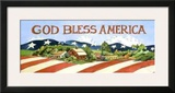 God Bless America Prints by Jerianne Van Dijk