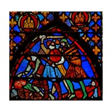 Window W3 a Battle Scene Giclée-Druck