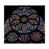 Window N3 Depicting the Last Judgement Giclee Print