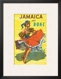 British Overseas Airways Corporation: Jamaica - Jet BOAC, c.1950s Prints